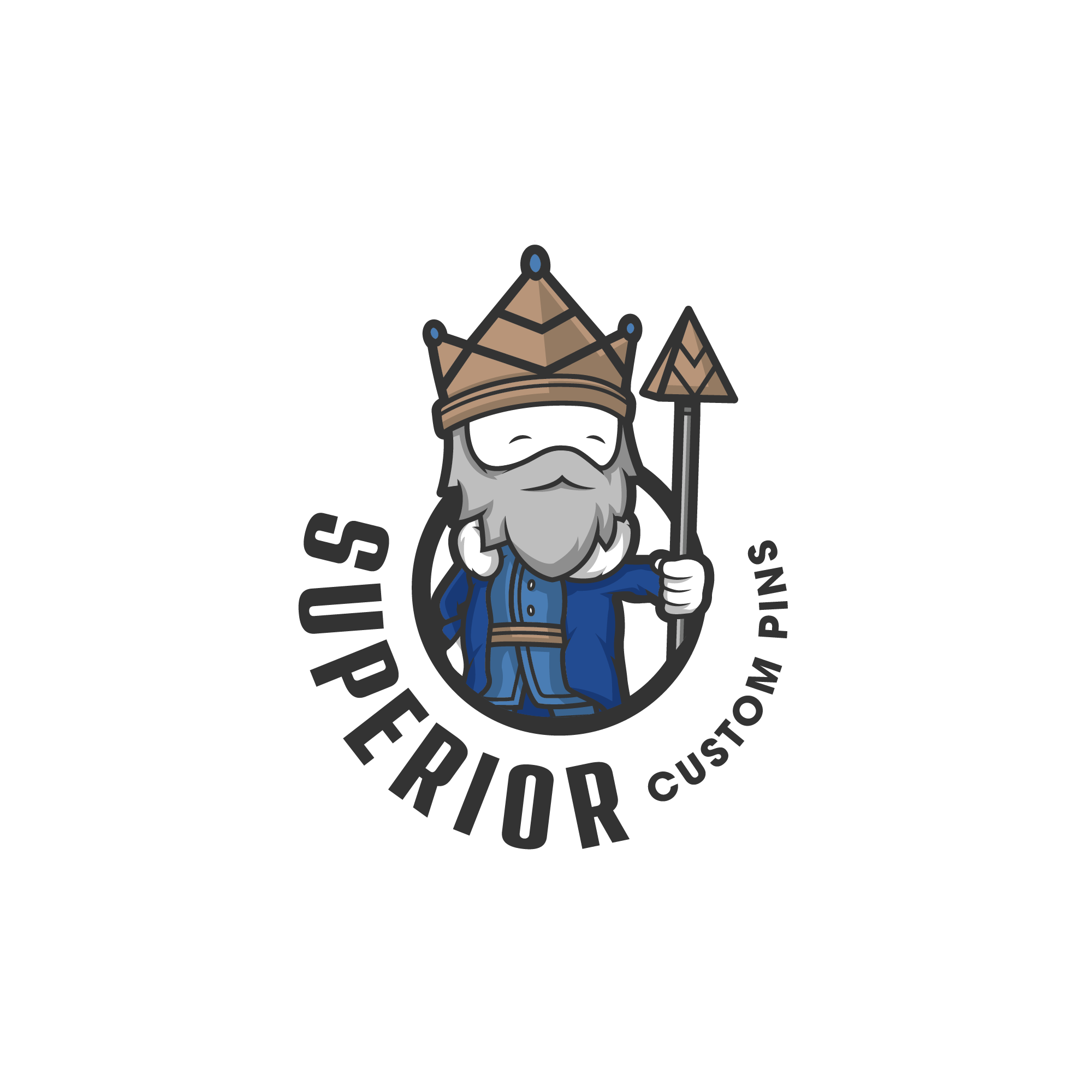 Superior Custom Pins Logo