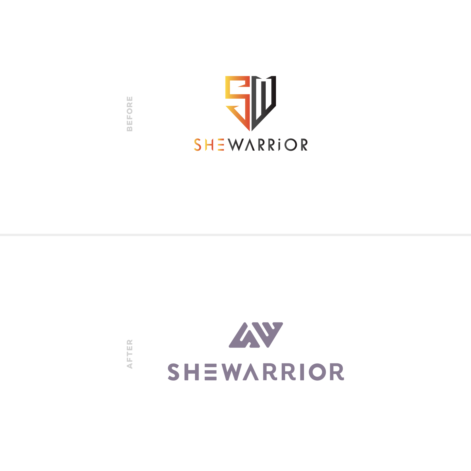 She Warrior | Before & After