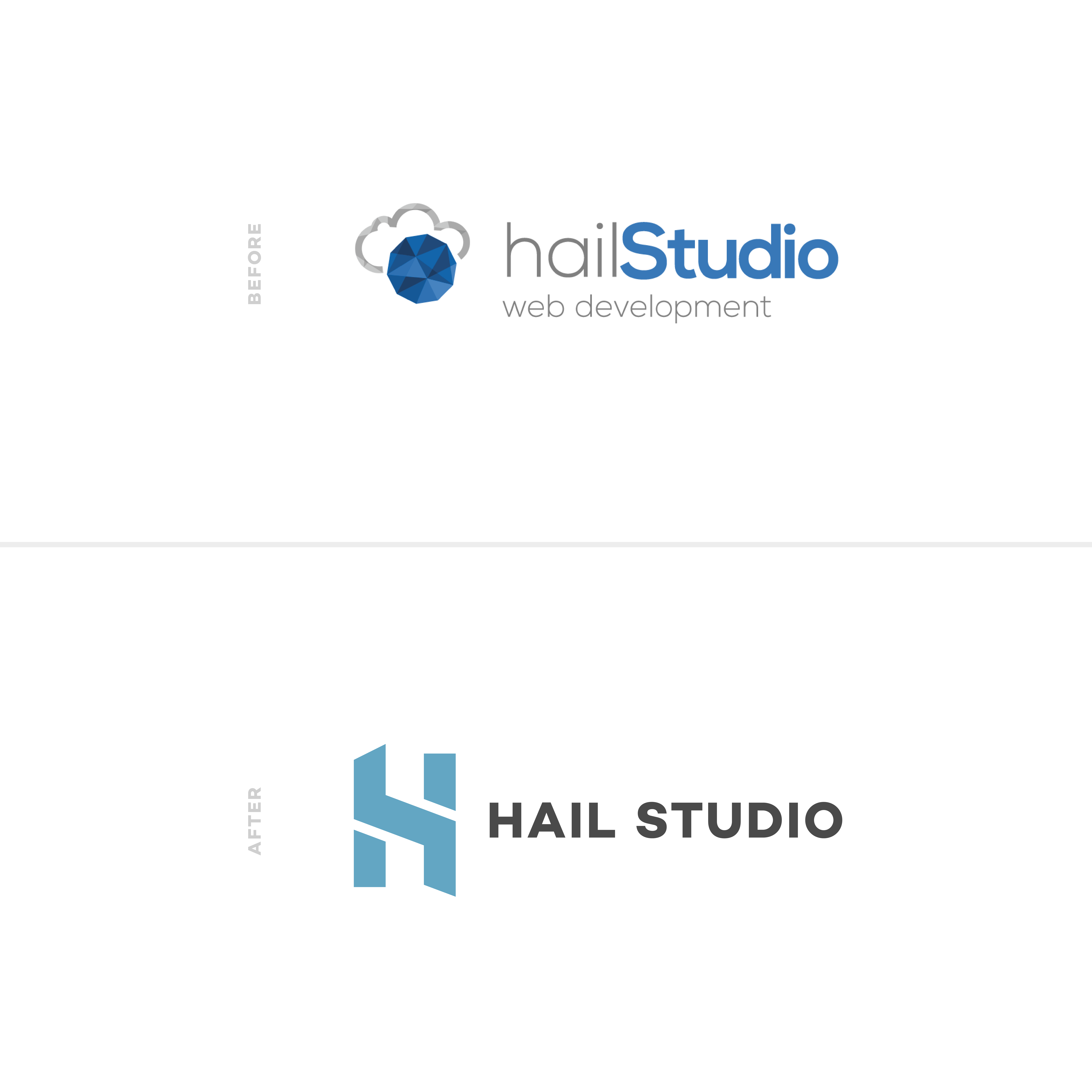Hail Studio | Before & After